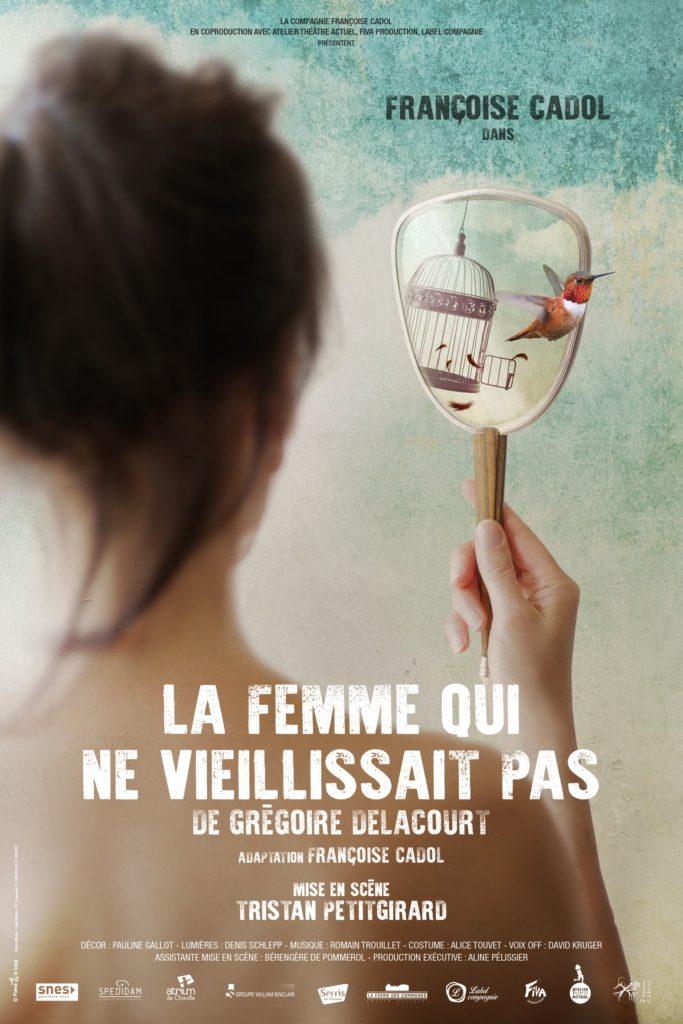 affiche de La Femme qui ne vieillissait pas